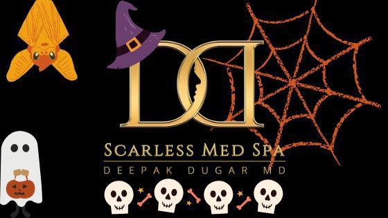 holloween poster by Scarless Med Spa