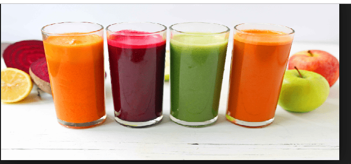 four healthy juice cleanses