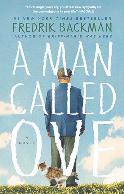 the book A man called Ove by Fredrik Backman