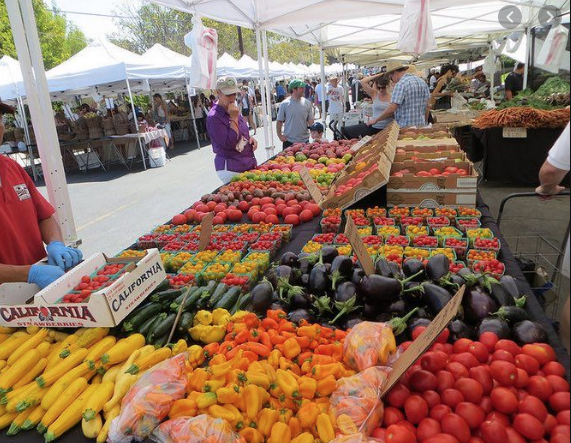 farmer market in Los Angeles