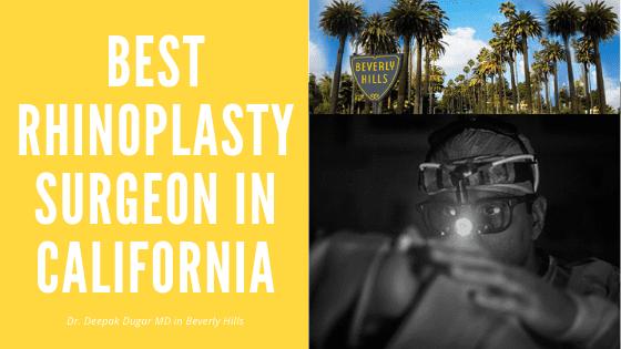 Dr Dugar - best rhinoplasty surgeon in California