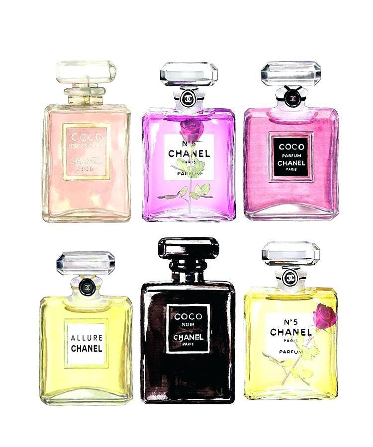 Chanel and Coco perfumes
