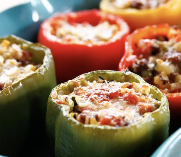 tasty stuffed bell peppers