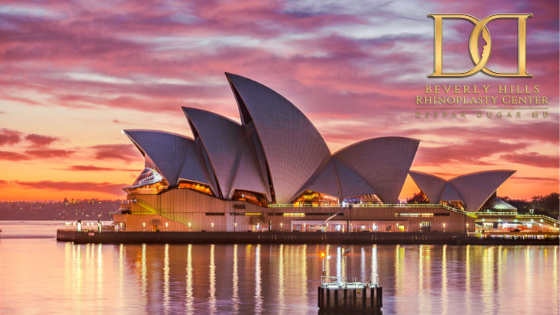 perfect picture of Sydney Opera House
