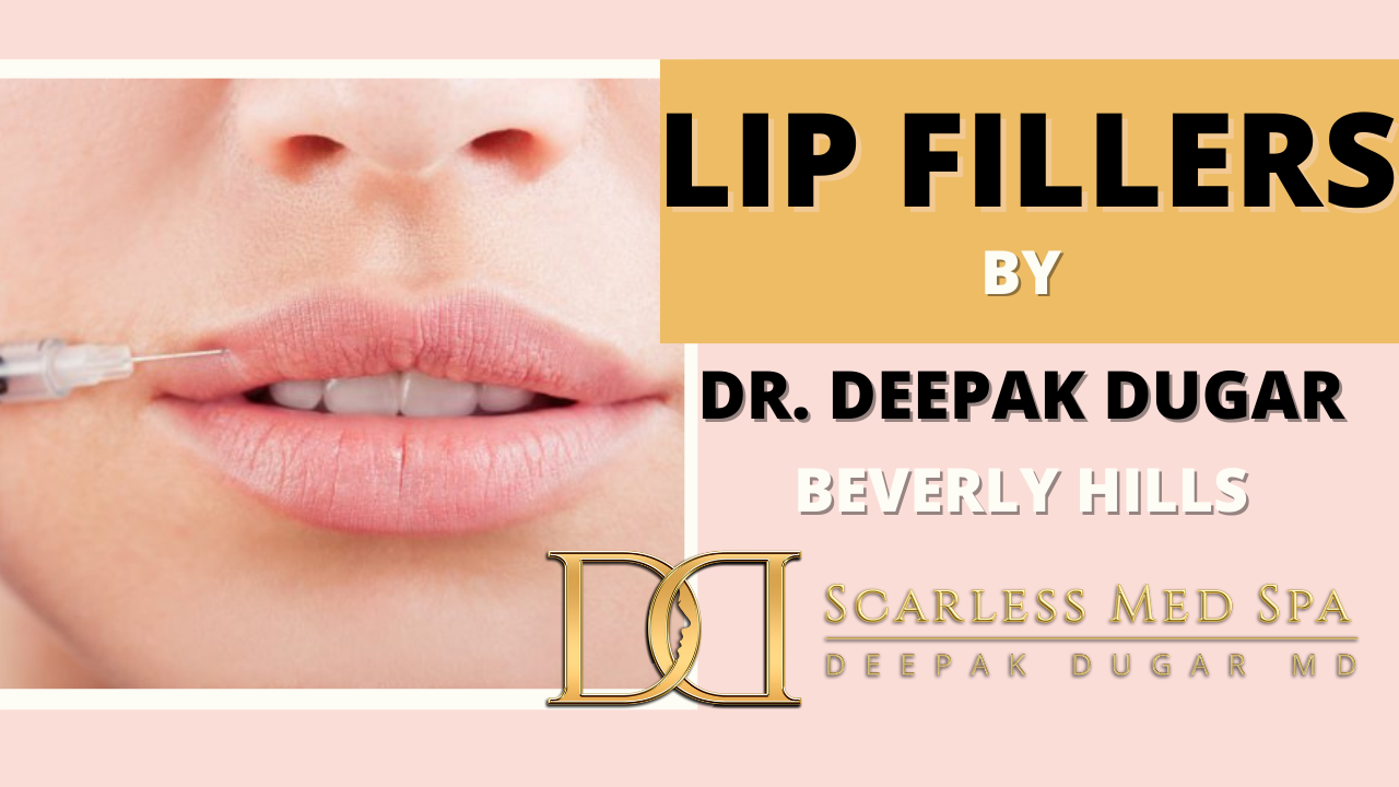 Youtube thumbnail of Dr Dugar's video about lip fillers